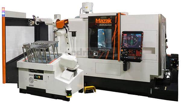 External shot of a Mazak QT 250MY turning centre