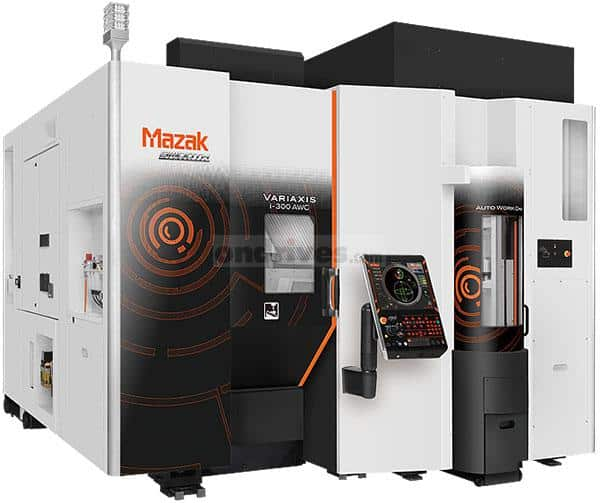 External shot of a Mazak i-300 machining centre