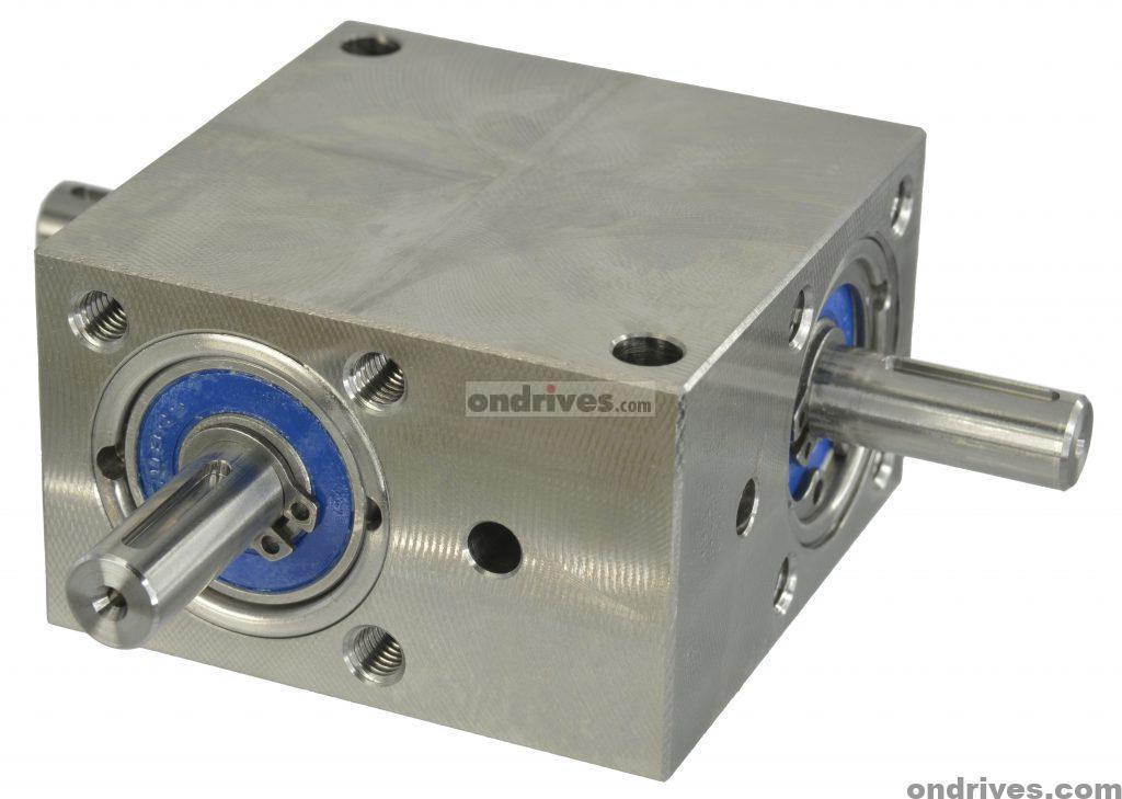 Stainless Steel Spiral Bevel Gearbox
